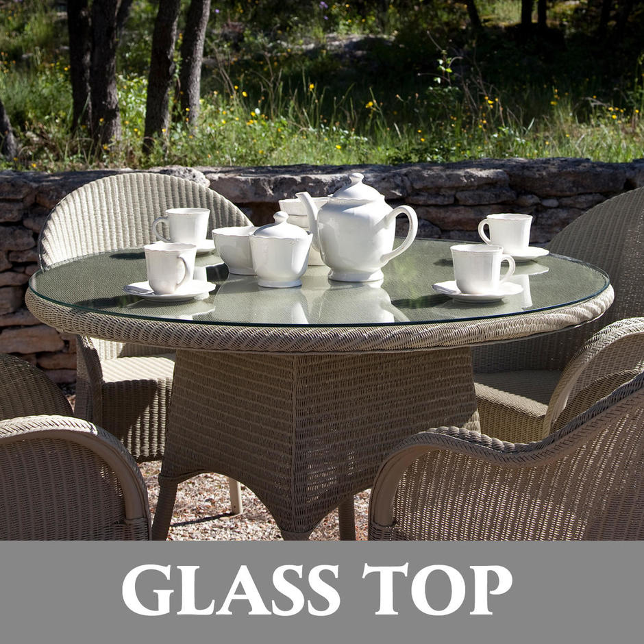 Nimes Dining Table Glass Top