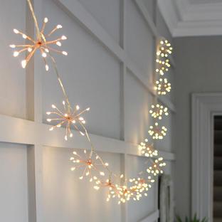 Allium Starburst Battery String Lights