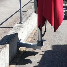 Glatz Parasol Wall Mounted Fixings
