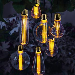 Edison Parasol Cluster Lights
