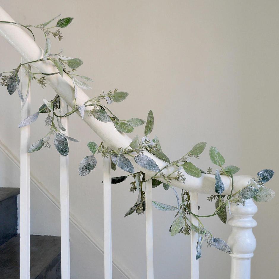 Icy Eucalyptus Garland Strand