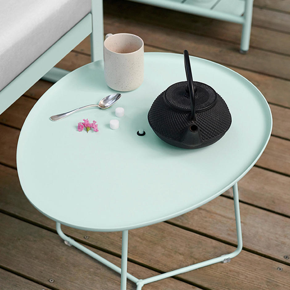 Cocotte Low Table with Tray