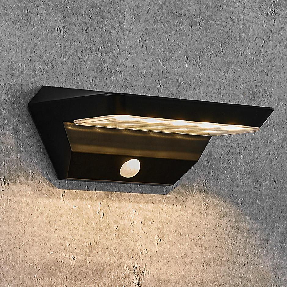 Agena Solar Wall Light