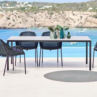 Pure Rectangular 200x100cm Table Base