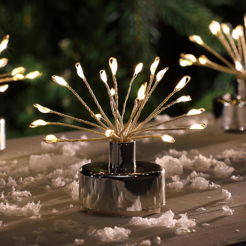 Starburst Sparkler Tea Lights - Set of 6