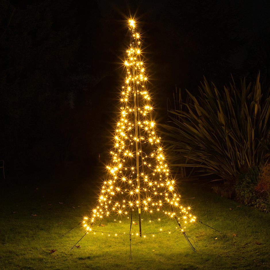 Northern Stars Outdoor LED Trees