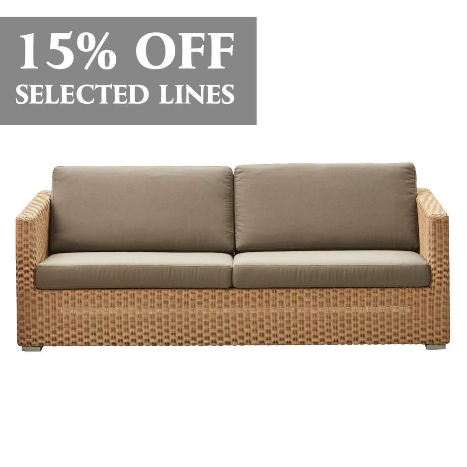 Chester 3 Seater Sofa Cushion Set