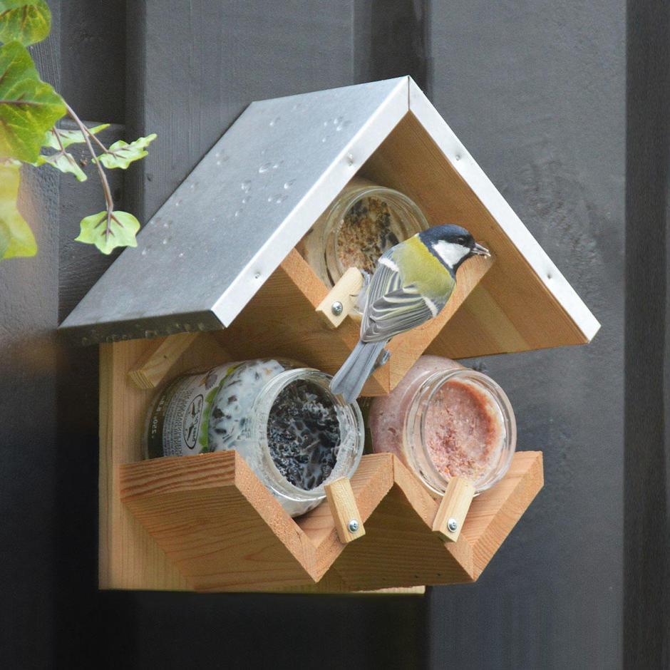 Gourmet Bird Feeding Station
