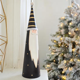 Nordic Cone Santa Decoration