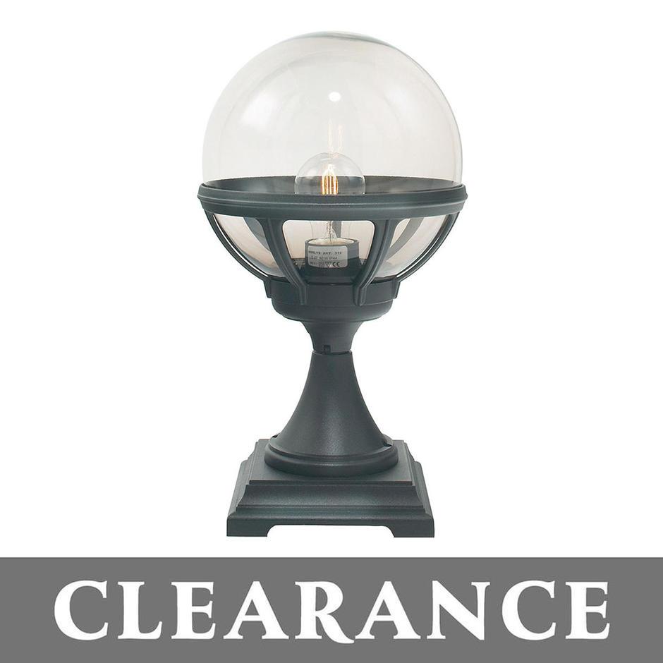 Bologna Outdoor Pedestal Lantern-Clearance