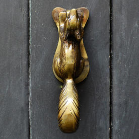 Squirrel Door Knocker