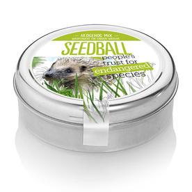 Hedgehog Mix Seedball Tin