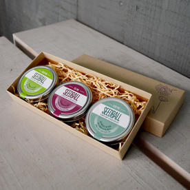 Culinary Kitchen Collection Seed Tin Gift Box