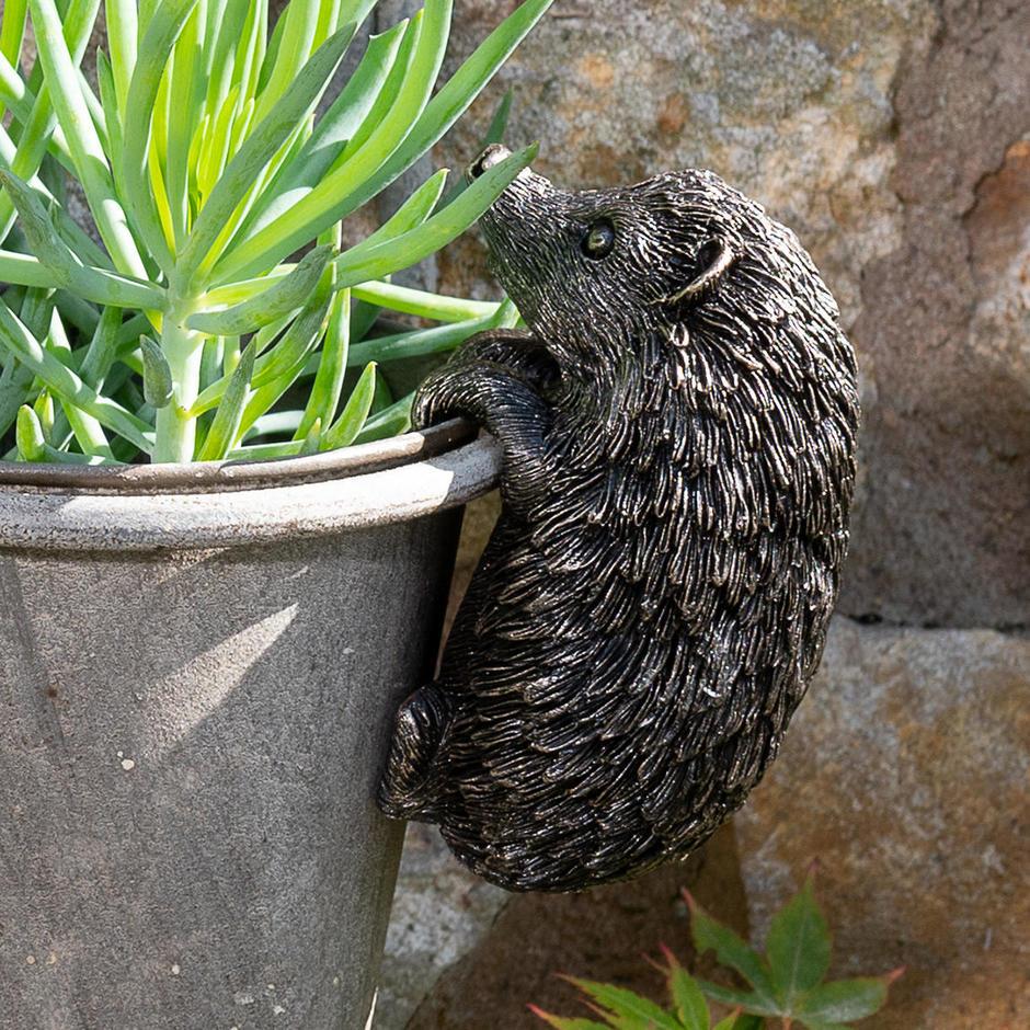 Hedgehog Plant Pot  Decoration