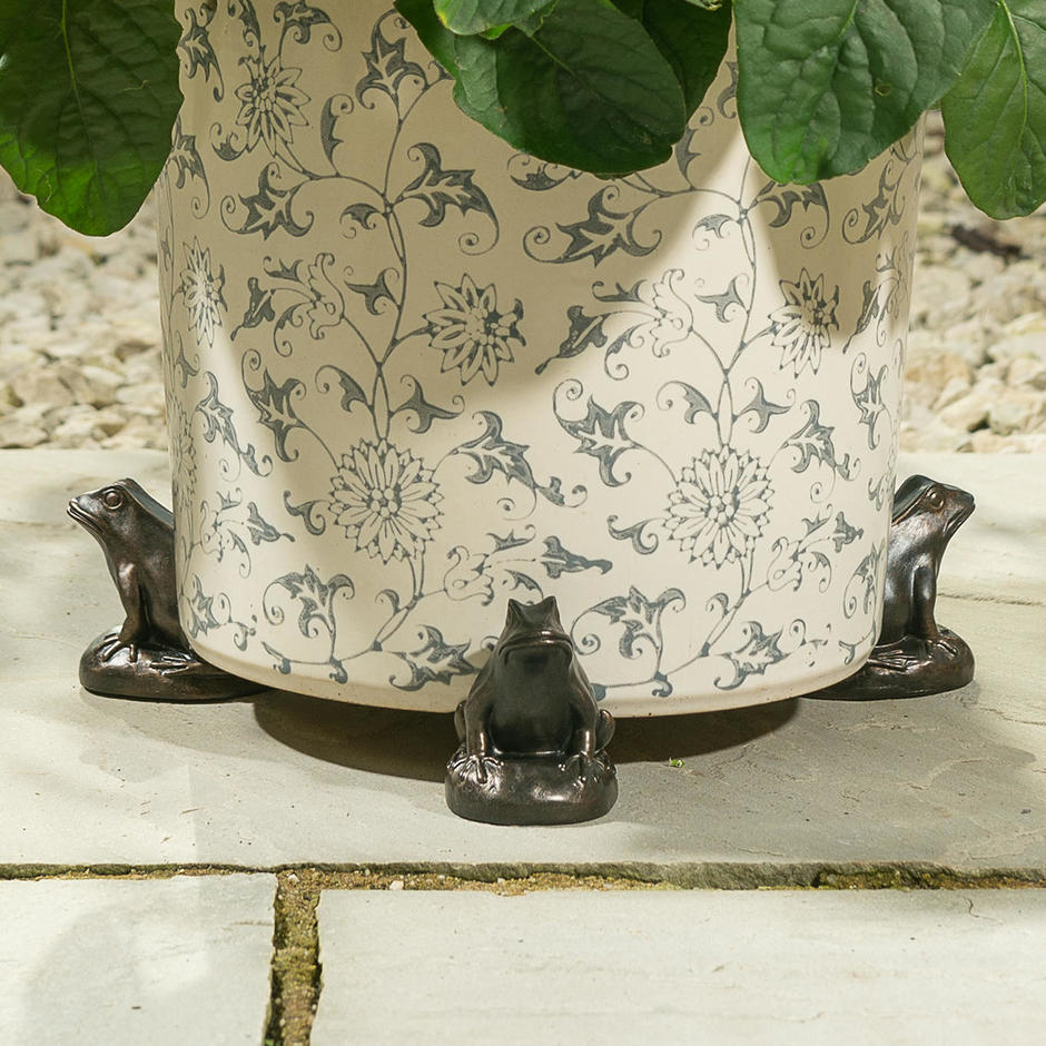Frog Plant Pot Feet - Set of 3