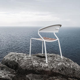 Curve Teak Dining Chair
