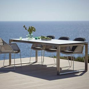 Edge Dining Table Base