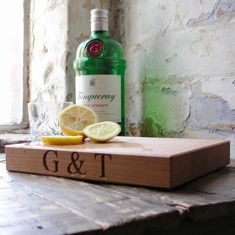 Gin & Tonic Chopping Board