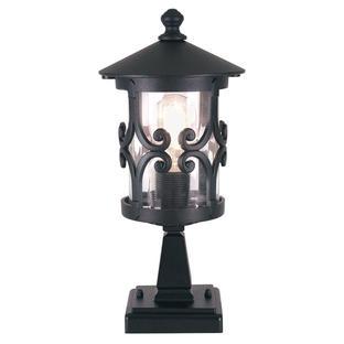 Hereford Scroll Outdoor Pedestal Lantern