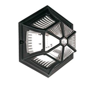 Parish Outdoor Flush Ceiling Lantern