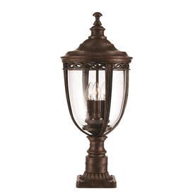 English Bridle Outdoor Pedestal Lanterns