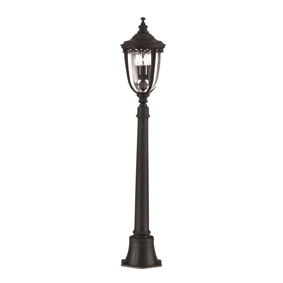 English Bridle Outdoor Pillar Lantern