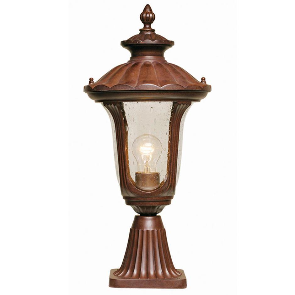 Chicago Outdoor Pedestal Lanterns