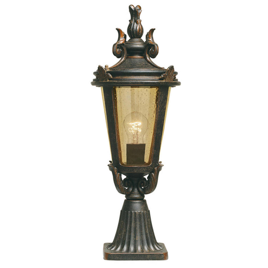 Baltimore Outdoor Pedestal Lanterns