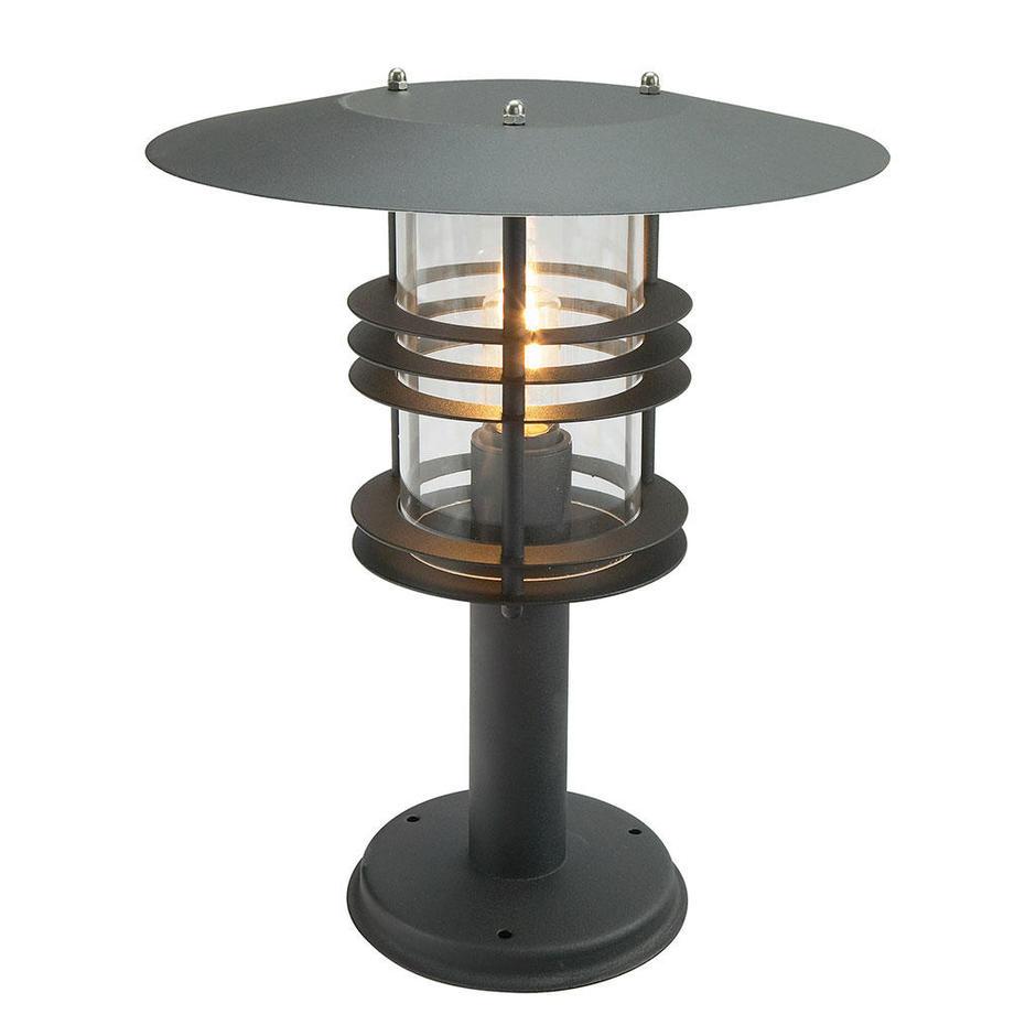 Stockholm Grande Outdoor Pedestal Lanterns