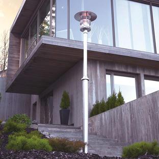 Stockholm Outdoor Pillar Lanterns