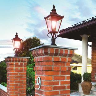 Chelsea Outdoor Pedestal Lantern