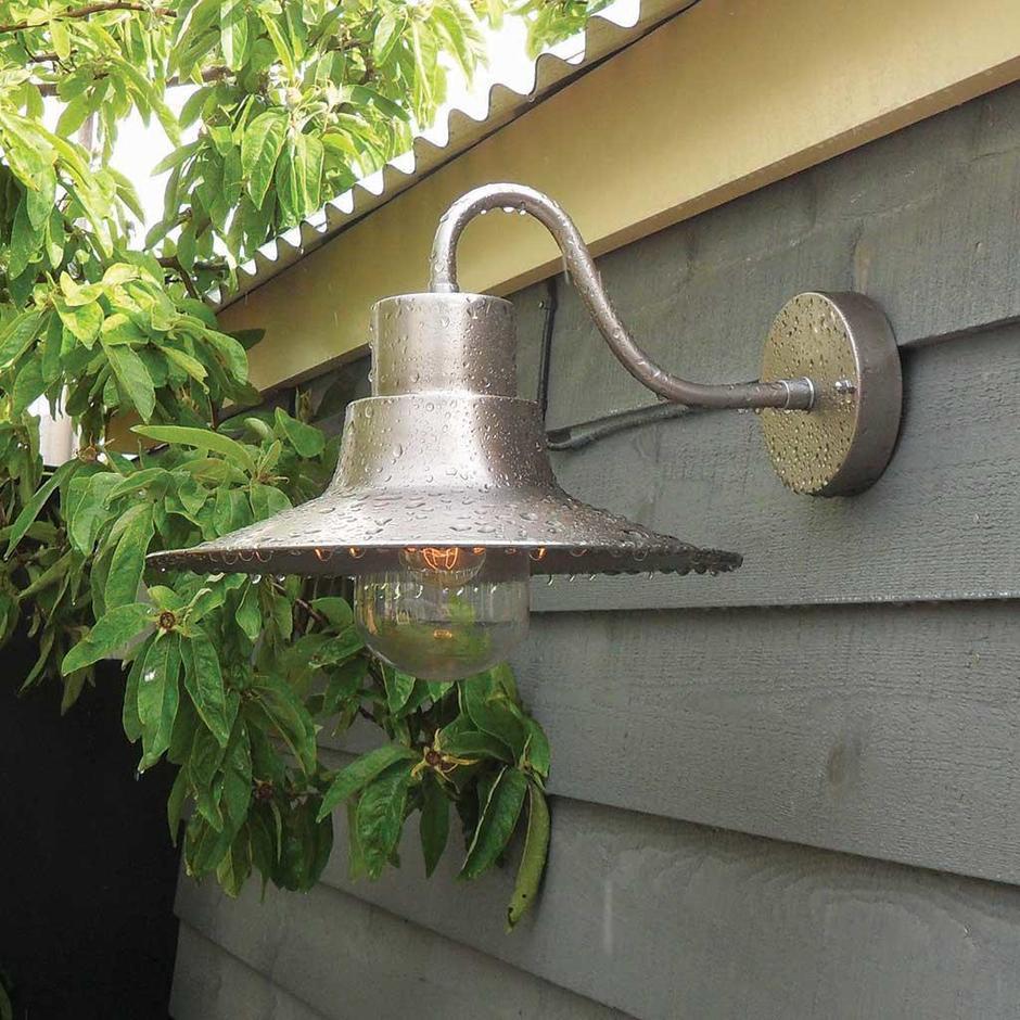 Sheldon Brass Outdoor Wall Lanterns
