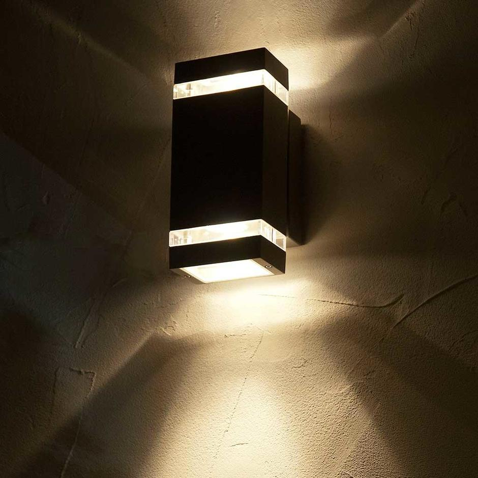 Focus Outdoor LED Up/Down Wall Light