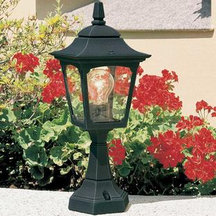 Chapel Mini Outdoor Pedestal Lantern