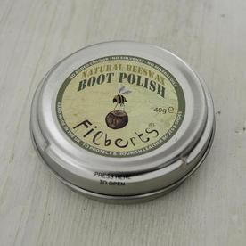 Natural Beeswax Boot Polish
