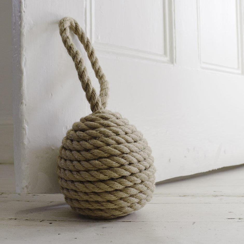 Rope Ball Spiral Design Doorstops