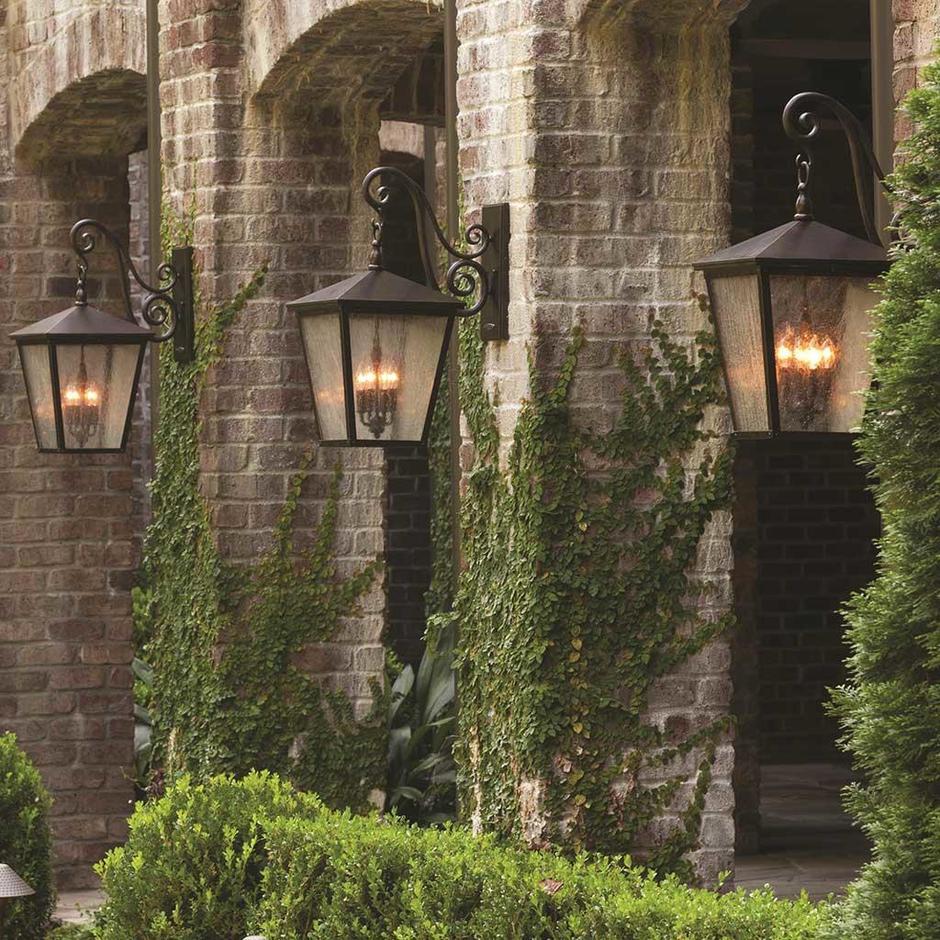 Trellis Outdoor Wall Lanterns