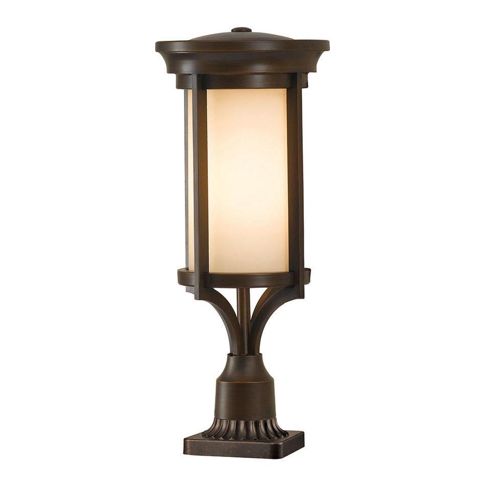 Merrill Outdoor Pedestal Lantern