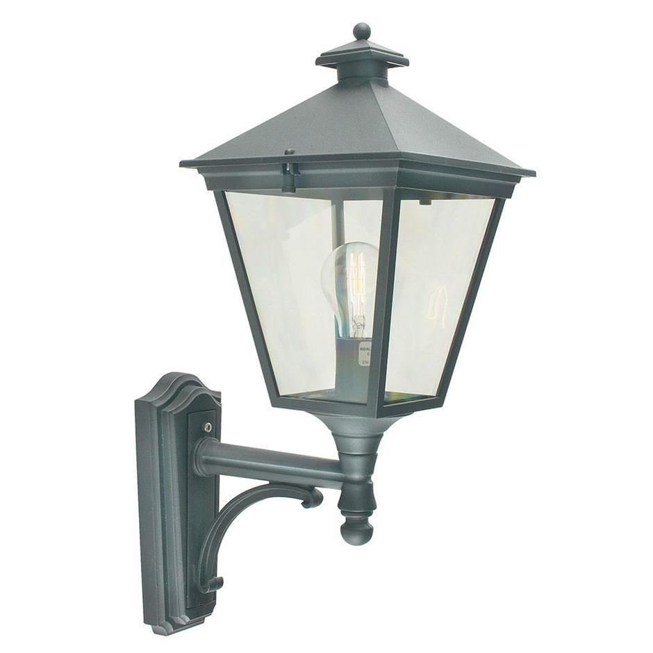 Turin Outdoor Up Wall Lanterns