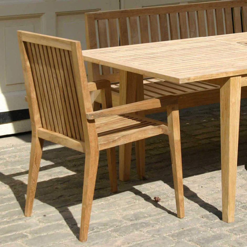 Menton Dining Chair with Arms