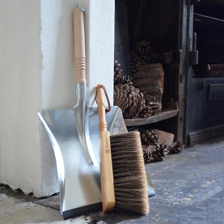 Traditional Galvanised Dustpan