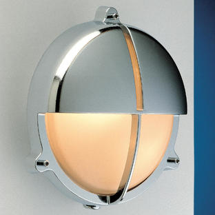 Round Bulkhead Lights with Split Shade