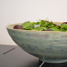 Pure Seagreen Salad Bowl