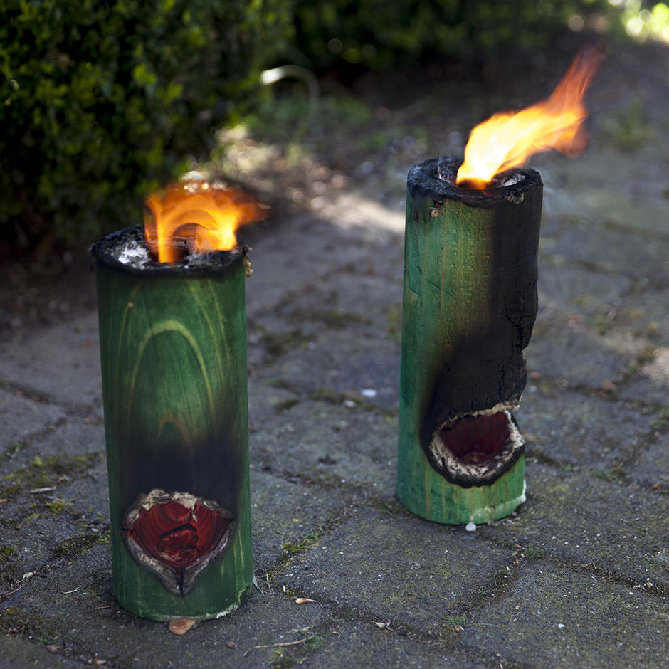 Finnish Firepit Candles