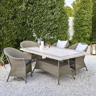 Lansing Rectangular Outdoor Dining Table Bases