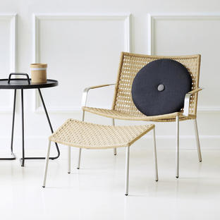 Straw Indoor Lounge Chair