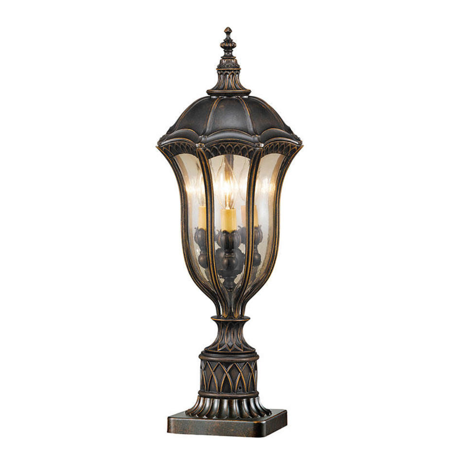 Baton Rouge Outdoor Pedestal Lantern