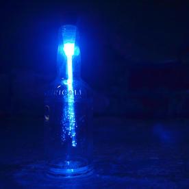Optic Fibre Bottle Light