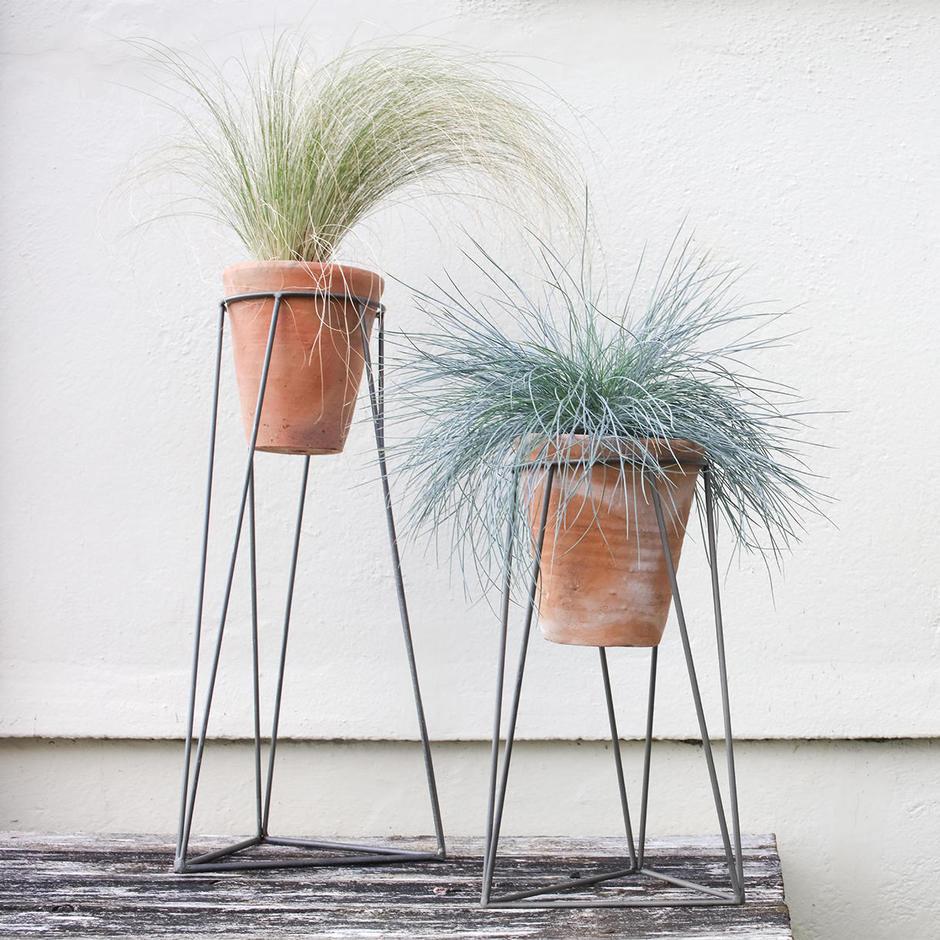 Terracotta Pot on Framework Stand