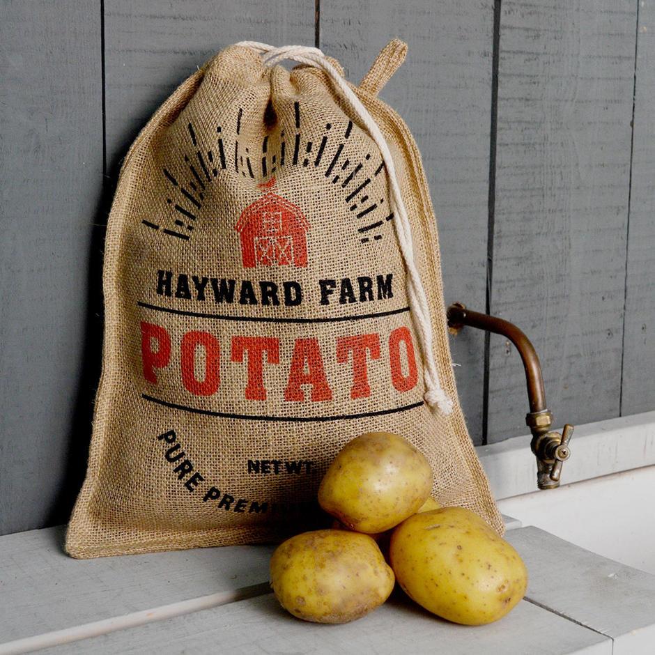 Jute Potato Storage Bag